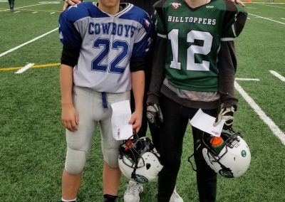GSL Player of the Game Week 4 Cowboys 22 Trey Loupelle - Hilltoppers 12 Keaton McCrae