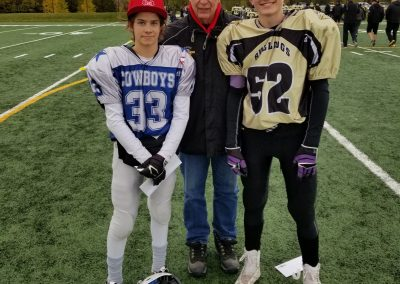 GSL Player of the Game Week 6 Cowboys 33 Josiah Schuster - Bulldogs 52 Kyle Sadler