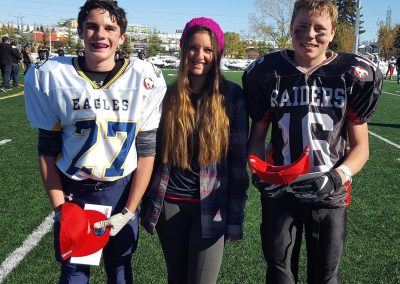 GSL Player of the Game Week 7 Eagles 27 Keighan Liepert - Raiders 16 Dawson Jensen