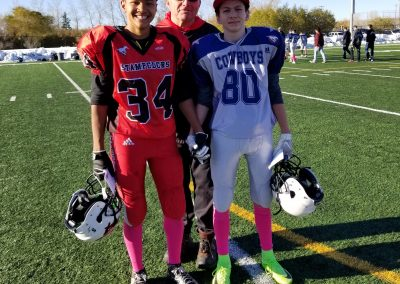 GSL Player of the Game Week 7 Stampeders 34 Taylor Innes - Cowboys 80 Enzo Andrews