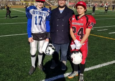 GSL Player of the Game 2018 Semi-Finals - Cowboys 17 Karter Anderson - Stampeders 24 Charles Antoine-Hudon