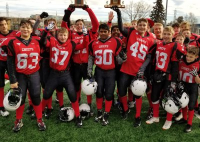 Div 3 City Champions - Chestermere Chiefs