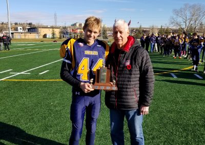 Div 2 Playoff MVP - Eagles 44 Luke Gutek